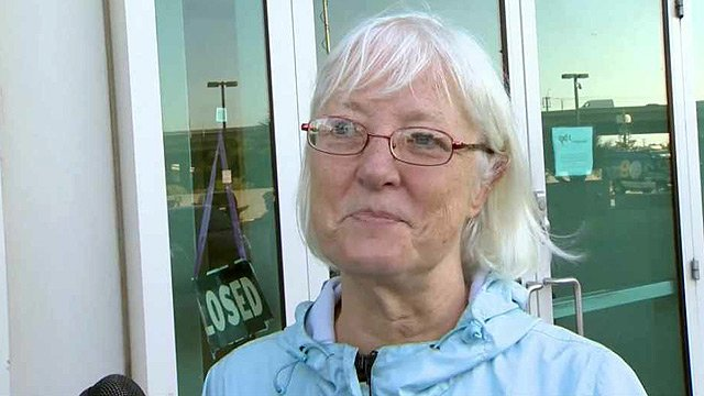 Marilyn Hartman has tried to fly commercial airplanes without a ticket several times, actually boarding a plane at least once in California. (Source: CBS 5 News)