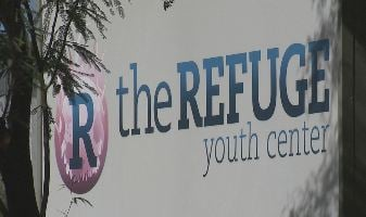 The Refuge Youth Center on Deer Valley Road. (CBS 5 News)