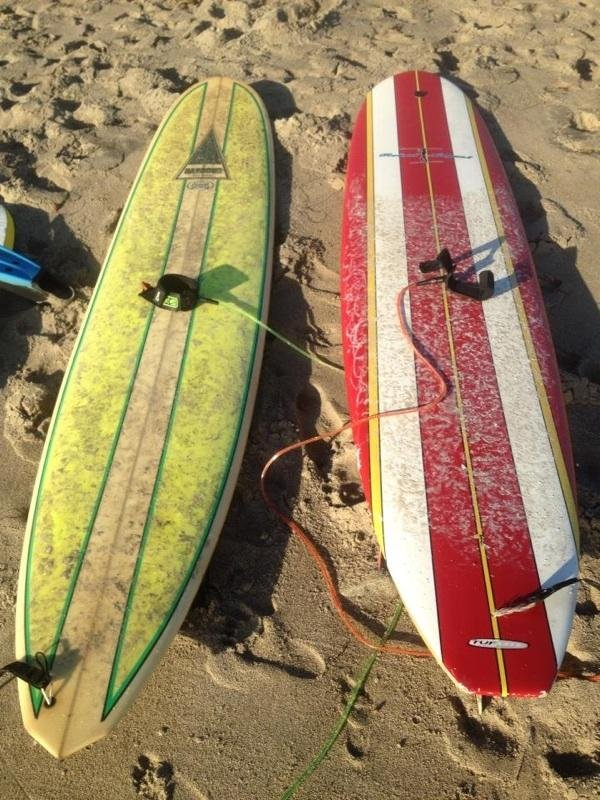 These surfboards were stolen Friday night. (Courtesy: The Refuge)