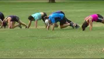 The Denver City Council is considering charging large groups that work out in it's city parks. (Source: KCNC-Denver)