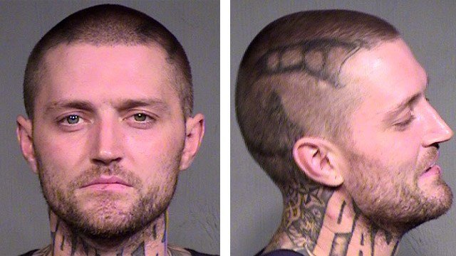 Tyler Day is suspected of a string of residential and vehicle burglaries in the Dobson Ranch area of Mesa. (Source: Mesa Police Department)