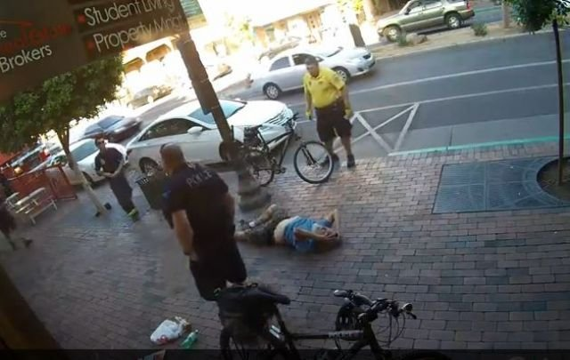 Tempe officer caught on camera punching man lying on ground - 3TV ...