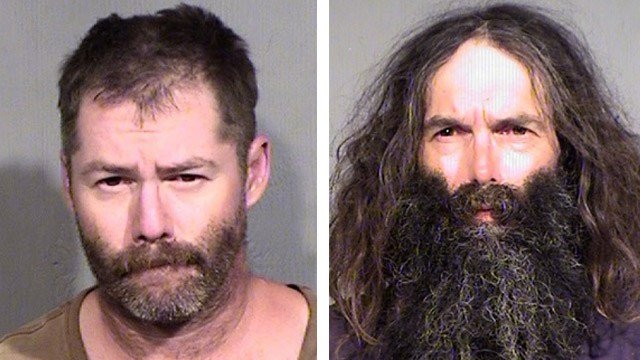 Alan, left, and Gregory Stout. (Source: Maricopa County Sheriff's Office)