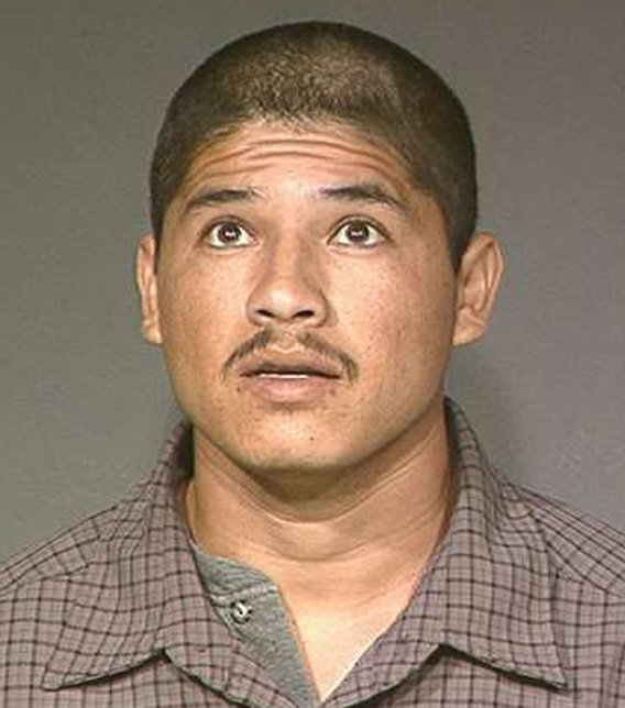 Luis Enrique Monroy-Bracamonte, also known as Marcelo Marquez, in a 1996 booking photo. (Source: Maricopa County Sheriff's Office)