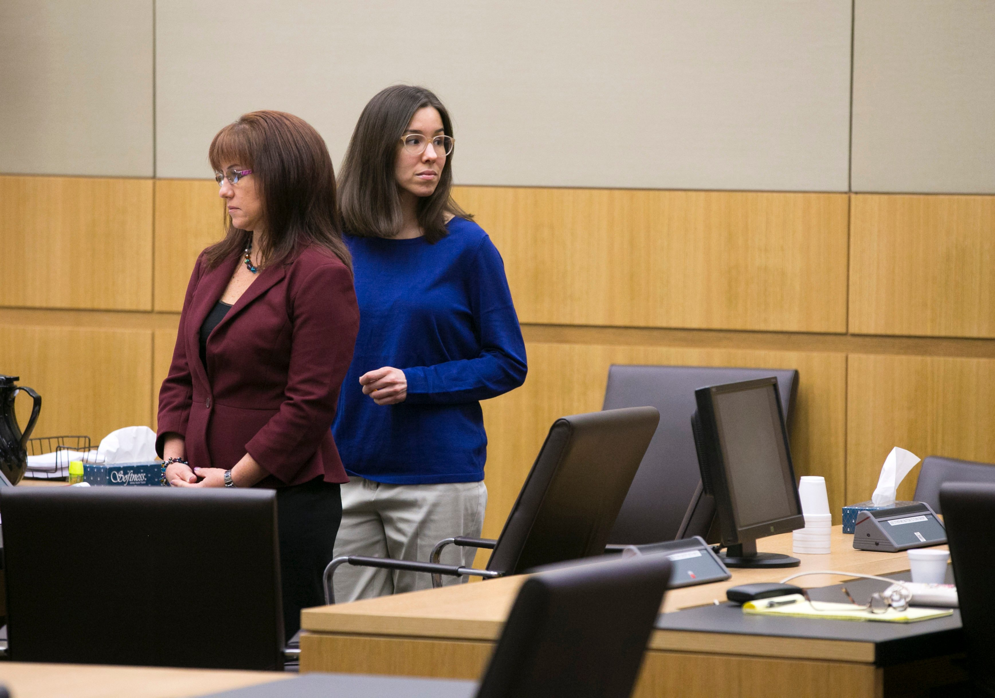 Jodi Arias in court on Day 5 of the sentencing phase retrial, October ...