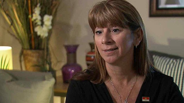Laura Sutton, of Prescott Valley, has been diagnosed with two distinct different types of cancers in the same breast. (Source: CBS 5 News)