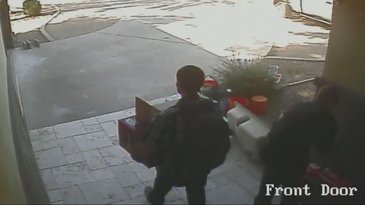 Both thefts were caught on surveillance video. (Source: Matthew Kane)