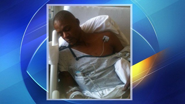 Frank Morrison alleges he was beaten so badly by Phoenix police officers he suffered a stroke.