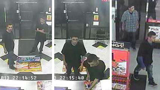 These two men are suspects in at least five armed robberies since July 20. (Source: Phoenix Police Department)