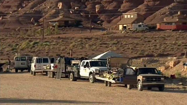 People hoping to raft the Grand Canyon ran aground when the federal government shut down Tuesday. (Source: CBS 5 News)