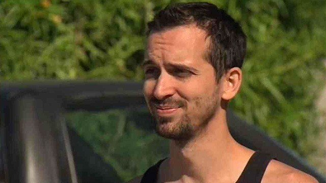 Joseph McLellan, pictured, and his brother were asleep when the car slammed into the home. (Source: CBS 5 News)