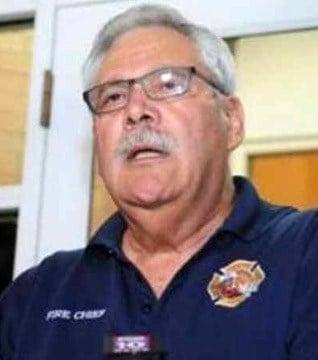 Prescott Fire Chief Dan Fraijo's last day will be Nov. 15. (Source: CBS 5 News)