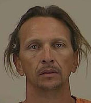 Zeppelin Anderson, 42, is an investigative lead in two stolen vehicle cases. (Source: Pinal County Sheriff's Office)