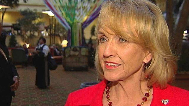 Arizona Gov. Jan Brewer. (Source: CBS 5 News)