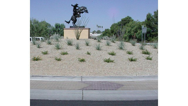 A statue in the south roundabout in Wickenburg. (Source: Town of Wickenburg)