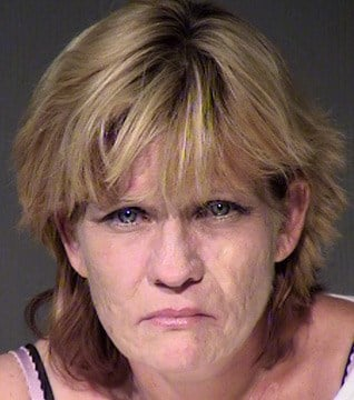 Stacey Ann Lopez was arrested on outstanding warrants at the Towers Jail and then found to be carrying what she admitted was heroin and methamphetamine. (Source: Maricopa County Sheriff's Office)