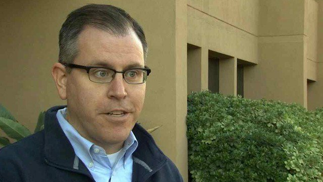Ted Vogt, the director of the Arizona Department of Veterans Services, is working to help bring in the Valley's  homeless veterans. (Source: CBS 5 News)
