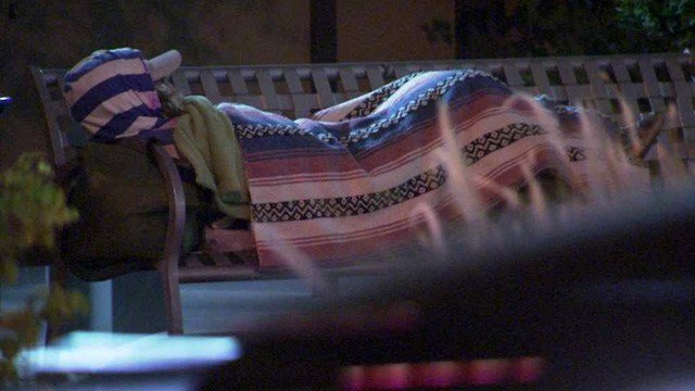 A HUD report shows homelessness on the decline in Arizona. (Source: CBS 5 News)