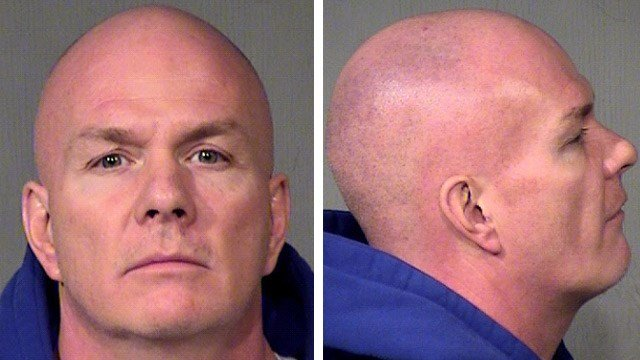 Robert Lee Noble is accused of selling counterfeit sports apparel at a Phoenix swap market at 3801 E. Washington St. in Phoenix. (Source: Maricopa County Sheriff's Office)