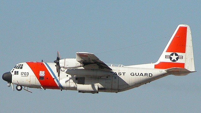 HC-130H air tanker. (Source: US Coast Guard)