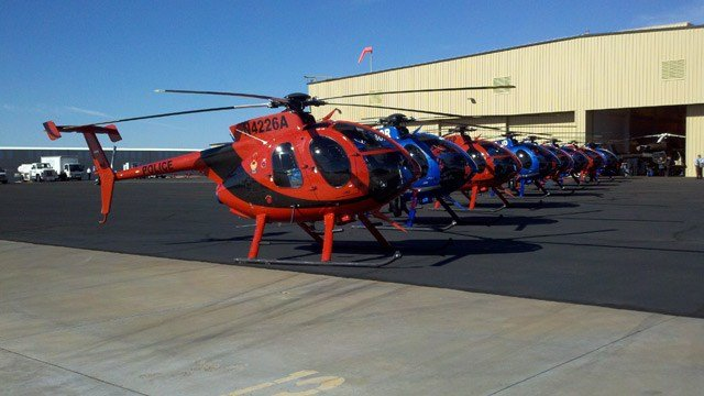 The Kurdistan government has purchased 14 high-performance helicopters from MD Helicopters, Inc., of Mesa, for $50 million. (Source: CBS 5 News)