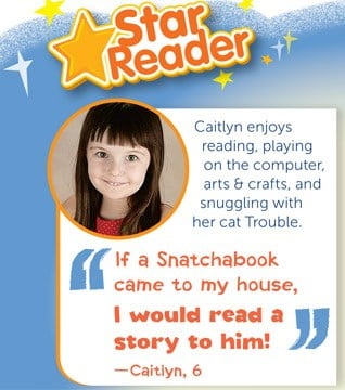Caitlyn Guthrie, who attends Creative Castle Preschool and Kindergarten, will appear in the February flyer for the Scholastic Reading Club. (Source: Scholastic Reading Club)