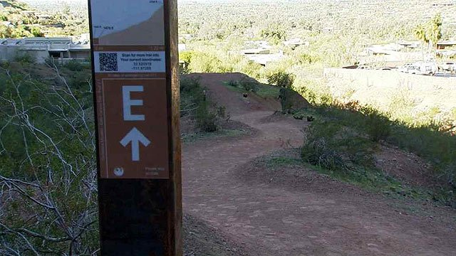 The Echo Canyon trail on Camelback Mountain was officially opened at 7 a.m. Wednesday after a year-long $4 million renovation project. (Source: CBS 5 News)