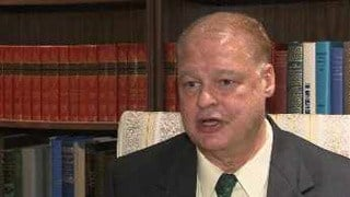 Arizona Attorney General Tom Horne and aide Kathleen Winn are accused of illegally coordinating spending in his 2010 election. (Source: CBS 5 News)