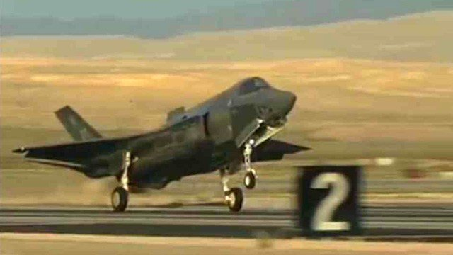 F-35 (Source: CBS 5 News)