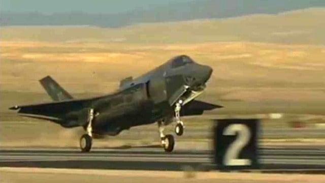 F-35 (Source: CBS 5 News)