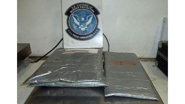 The heroin was estimated to have a value of $96,000. (Source: U.S. Customs and Border Protection)