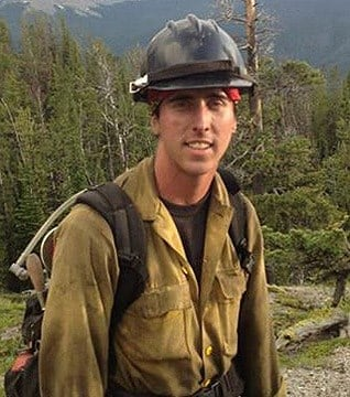 Brendan McDonough, the only surviving Hotshot from the Yarnell Hill Fire, will now work for the Boise, Idaho-based Wildland Firefighters Foundation. (Source: CBS 5 News)
