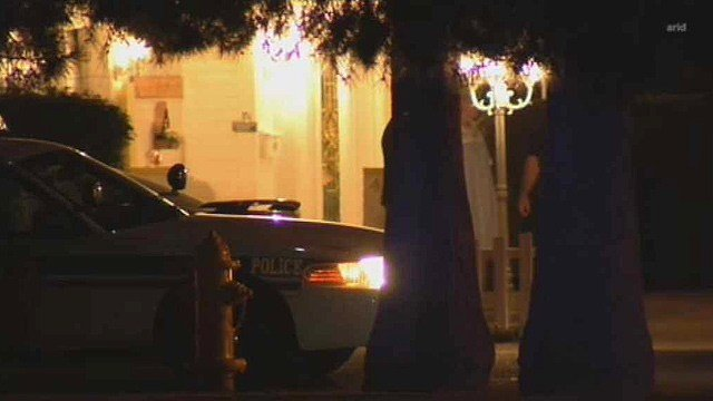 Glendale police were interviewing several witnesses after a fatal stabbing Thursday night. (Source: CBS 5 News)