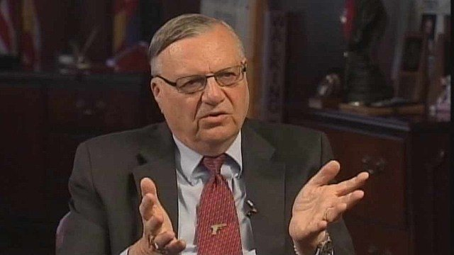 Maricopa County Sheriff Joe Arpaio. (Source: CBS 5 News)
