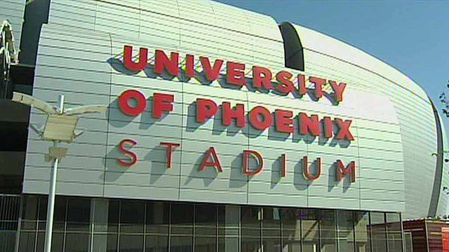 Arizona is scheduled to host the 2015 Super Bowl at University of Phoenix Stadium in Glendale. (Source: CBS 5 News)