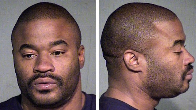 Jamaud Williamson, 38, was arrested at 10:50 a.m. Wednesday at a Tempe residence where he was staying. (Source: CBS 5 News)