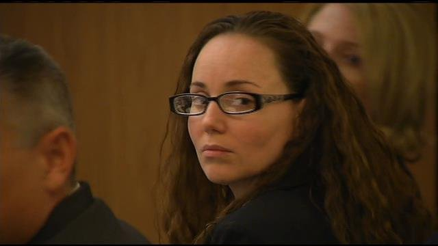 Marissa Devault is accused of fatally bludgeoning her husband with a hammer. (Source: CBS 5 News)
