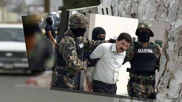 "Agua Prieta residents fear the recent arrest of Joaquin ""El Chapo"" Guzman, the head of the powerful Sinaloa drug cartel, will result in escalated violence in their town between warring factions of the cartel. (Source: CBS 5 News)."