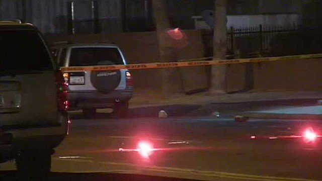 A Phoenix man was struck and killed while crossing this street Tuesday night. (Source: CBS 5 News)