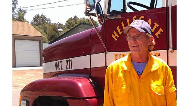 Hellsgate firefighter Bobby Mollere collapsed and died March 8 while participating in the Star Valley fire department's annual wildland pack test training exercise. (Source: Hellsgate Fire Department)