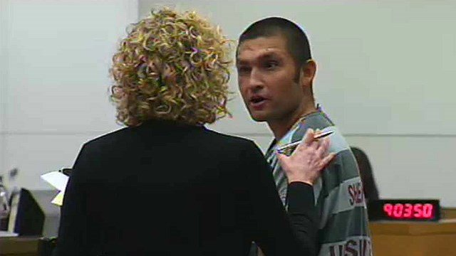 Andrew Ward pleaded not guilty to first-degree murder March 27 in Maricopa County Superior Court. (Source: CBS 5 News)