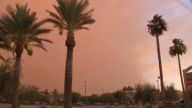 The winds that bring walls of dust in Arizona also stir up concerns about valley fever. (Source: CBS 5 News)