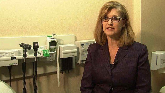 'Arizona is the valley fever capital of the world,' said Dr. Janis Blair, who runs the Mayo Clinic's valley fever clinic in Scottsdale. (Source: CBS 5 News)