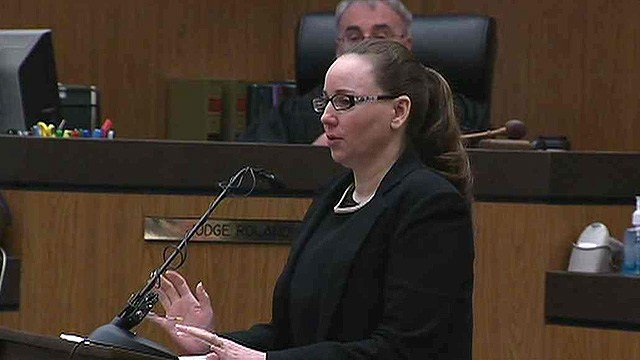 Marissa Devault was convicted in April of first-degree murder in the 2009 death of Dale Harrell. (Source: CBS 5 News)
