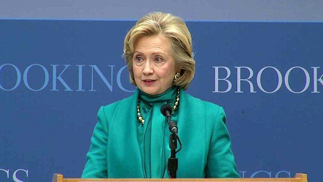 Former U.S. Secretary of State Hillary Rodham Clinton will participate in the McCain Institute's annual Sedona Forum on Saturday. (Source: CBS 5 News)