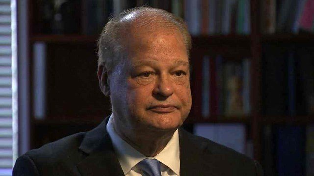 Arizona Attorney General Tom Horne is accused by former staffer Sarah Beattie of hiring her to mainly work on his re-election campaign. (Source: CBS 5 News)