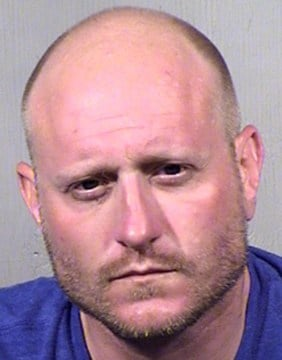 Edwin Joseph Collison, 34, of Chandler, was arrested May 9 on two counts of sexual exploitation of a minor. (Source: Maricopa County Sheriff's Office)