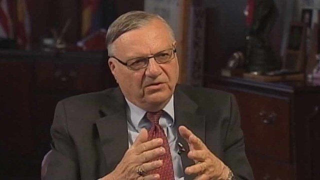 Maricopa County Sheriff Joe Arpaio plans to announce today whether he intends to run for Arizona governor. (Source: CBS 5 News)