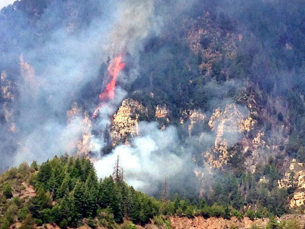 The Slide Fire began on May 20, 2014.
