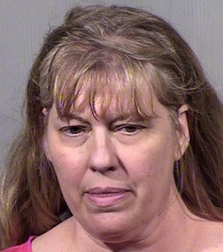 Kimery Jorg said she doled out most of the punishment to the girls because she was home most of the time. (Source: Maricopa County Sheriff's Office)